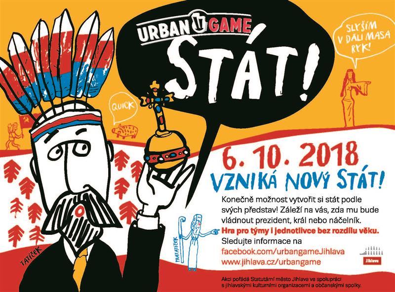 Image 3. ročník URBAN GAME v Jihlavě